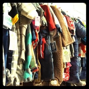 Tons of children's clothes still to come!